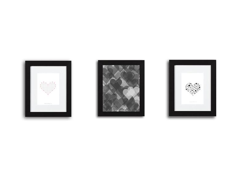 Grafiki od serca. Do pobierania, drukowania i dekorowania.