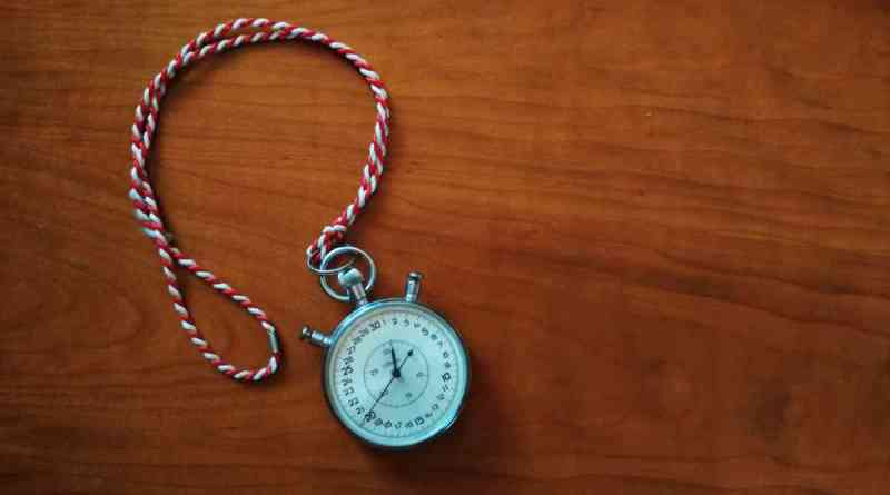 Il timer nei meeting toastmasters