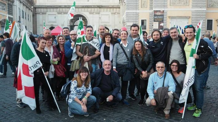 Delegazione PD a Roma