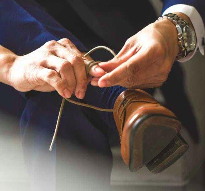Dalle stringhe alle scarpe