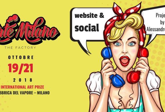 Realizzazione Sito Web e Campagne di Web Marketing Arte Milano The Factory
