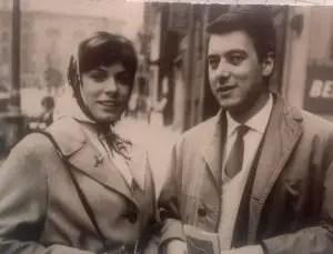 Mio padre con mamma fidanzati a Venezia