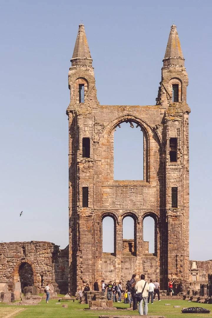 Scozia - Le rovine della cattedrale di St. Andrews