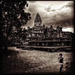 Bakong temple, Cambodia
