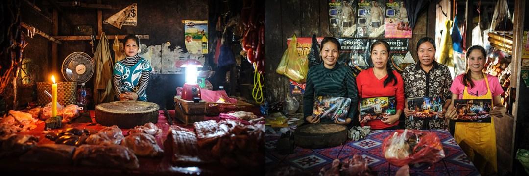 Psa Kraom market