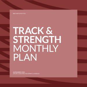 VIGO Strength Sprint Hurdles - Monthly Plan
