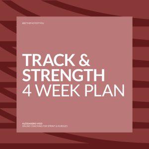 Alessandro Vigo | Online Coaching for Sprint & Hurdles - 4week