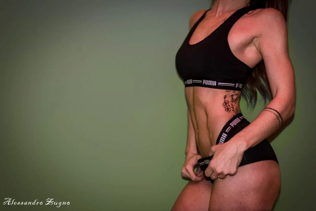 foto di fitness di addominali