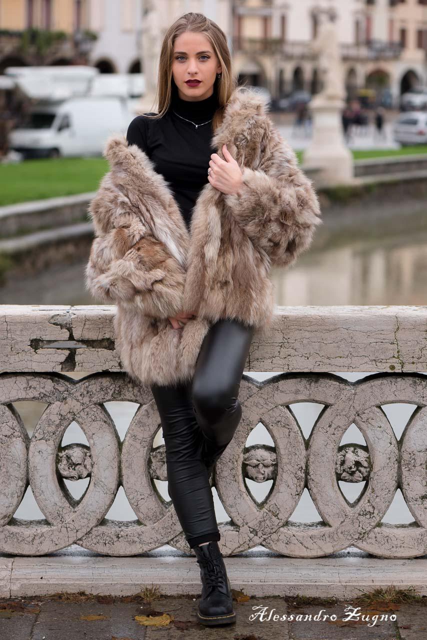 servizio fotografico di moda in Prato della Valle a Padova