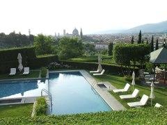 villa swimmingpool in Florence