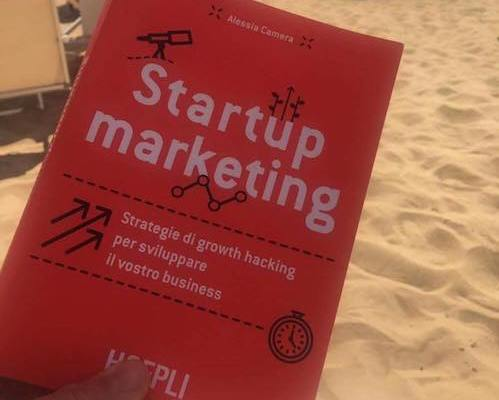 Startup Marketing Alessia Camera libro da spiaggia