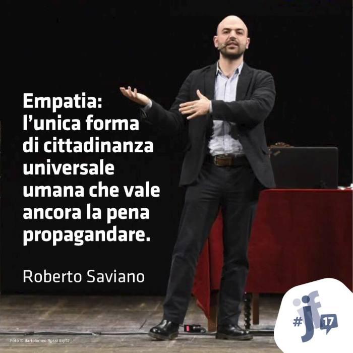 roberto saviano festival del giornalismo 2017