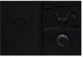 SIP – Centenario del Servizio Telefonico Pubblico 1881-1981 Legatura in cuoio zigrino nero. Stilizzazione sul piatto anteriore di telefono 1800 e sul piatto posteriore di telefono moderno