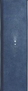 P. Lecuire – La nuit bleu Legatura in galuchat blu e ebano