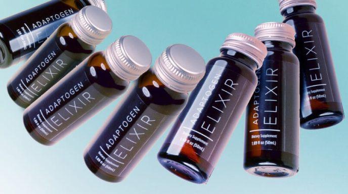 Isagenix adaptogen drink elixir