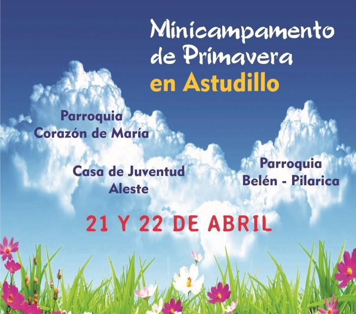 21 Y 22 Abril: MiniCampamento De Primavera (Interparroquial)