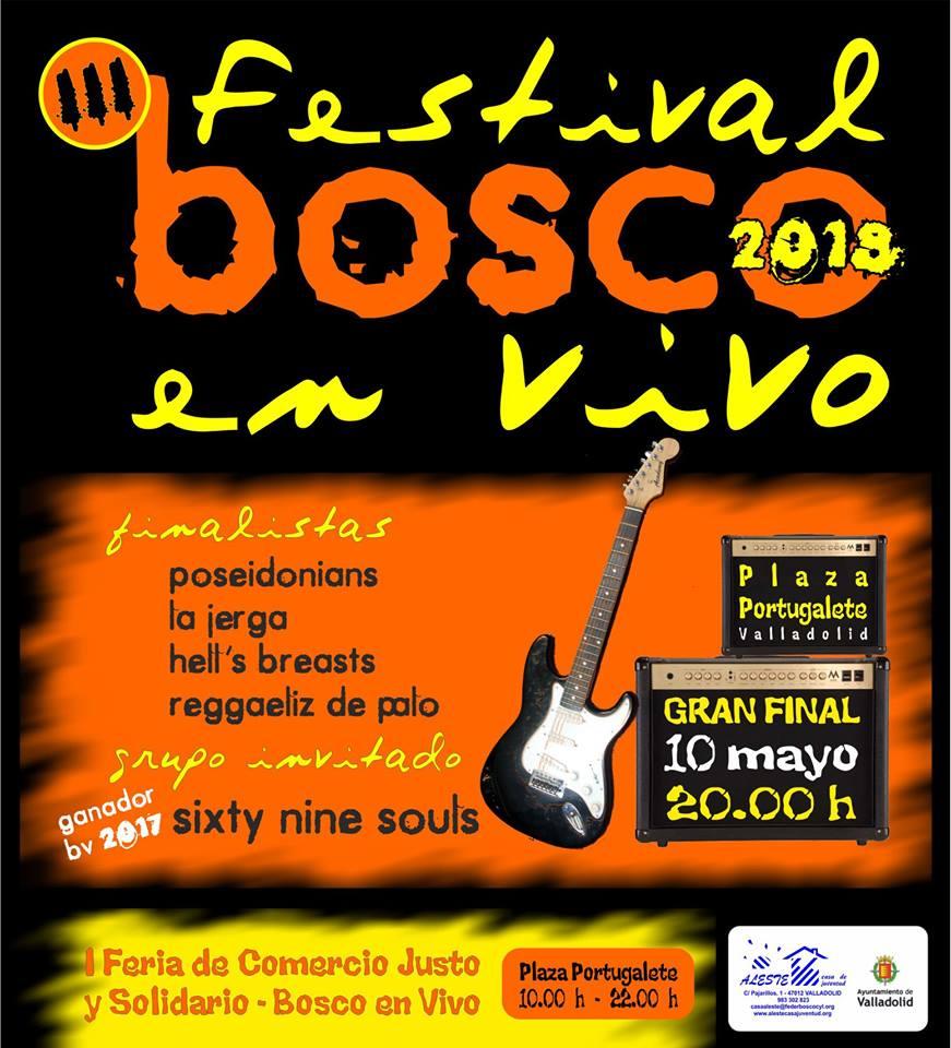10 Mayo: FINAL Del III #BoscoEnVivo (Pza. Portugalete).