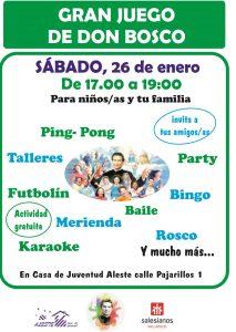 GRAN JUEGO don bosco