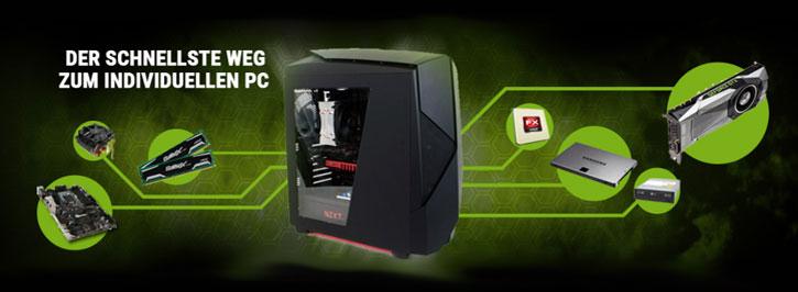 Eigenen PC zusammenstellen mit Hilfe eines PC Konfigurators