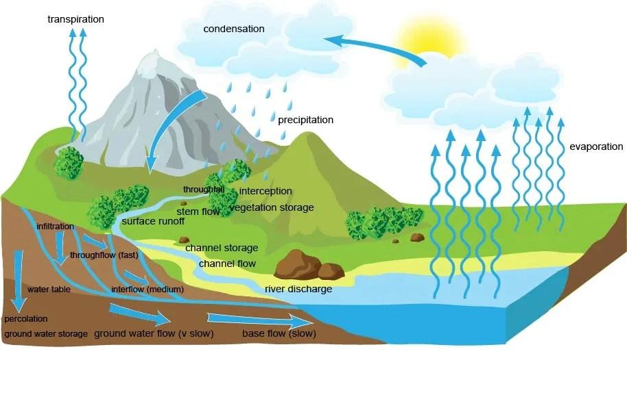 Drainage Basin Hydrological System