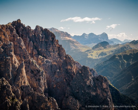 Gran Fermada & Sella Group -- Passo Coronelle, Rosengarten, South Tyrol, Italy
