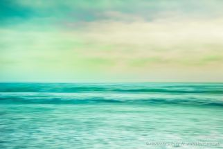 Beach abstract with intentional camera movement & multiple exposure