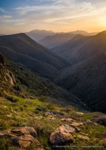 Ritchie Canyon Sunset -- Cleveland National Forest, San Diego County, California