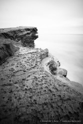 Long exposure seascape at the Point Loma tidal pools, San Diego, CA. July 2013.