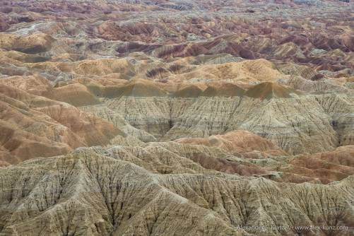 Borrego Badlands at Fonts Point, Anza Borrego Desert State Park, CA.
