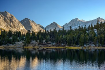 Heart Lake -- Little Lakes Valley, Tom's Place, California, United States