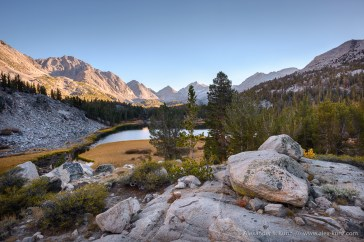Above Heart Lake -- Little Lakes Valley, Tom's Place, California, United States
