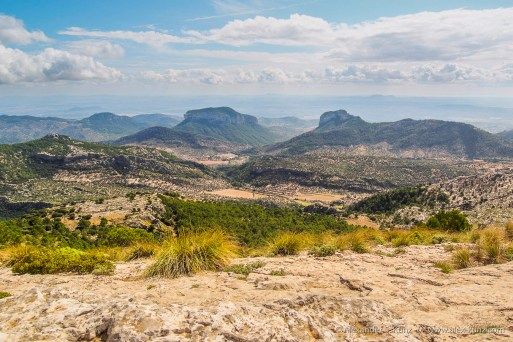 View to the South -- L'Ofre, Soller, Mallorca, Spain