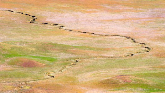 Crack -- Carrizo Plain, San Luis Obispo County, California, USA