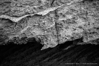 Mud & Gypsum Layer -- Mud Hills Wash, Anza Borrego Desert State Park, California, United States