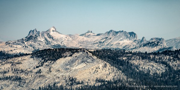 Mountains -- Clouds Rest, Yosemite NP, California, United States