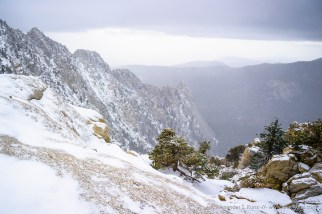 Tahquitz Rock (Lily Rock) -- Pacific Crest Trail, San Jacinto , California, USA