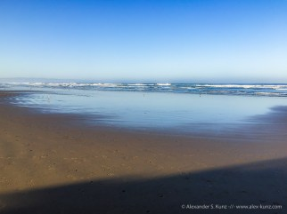 Clear Blue at Pismo State Beach, California. April 2016.