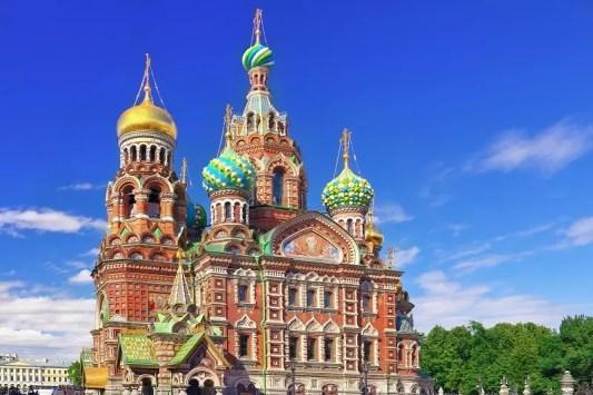 Erlöserkirche in St. Petersburg