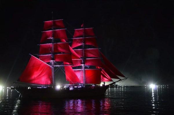 St. Petersburg Reise: Rote-Segel-Feier