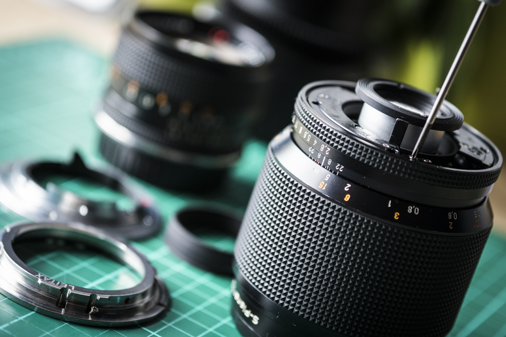 Adapting Zeiss Contax