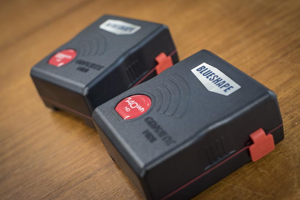 The Blueshape Granite Mini 95 and 140 batteries