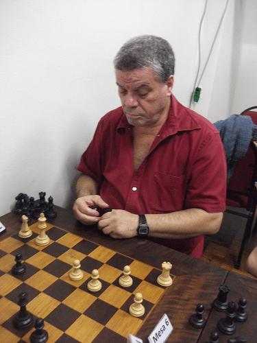 Classificação - Sérgio Murilo, da ALEX, não fez um torneio a altura do Xadrez que joga, tendo feito 5 pontos e ficado em 7º lugar.