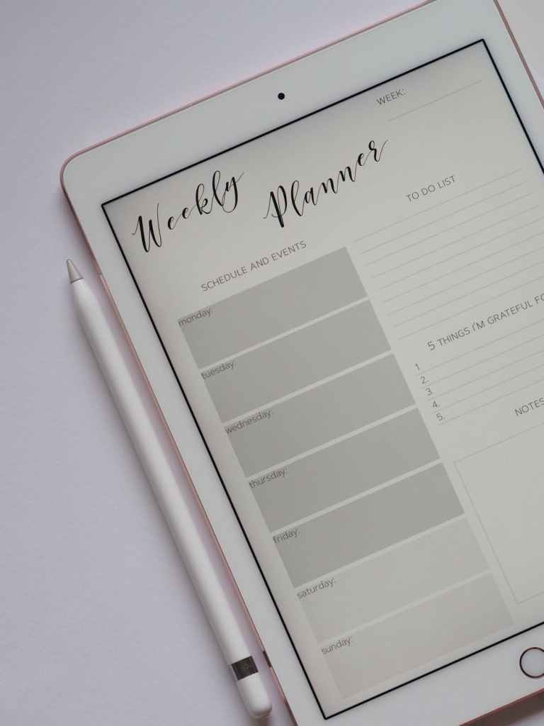Planner goals – How to pick the right planner / Journal for you.