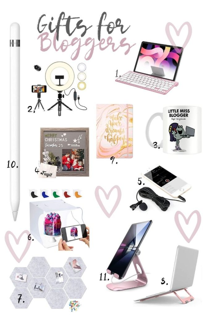 Gift ideas for bloggers