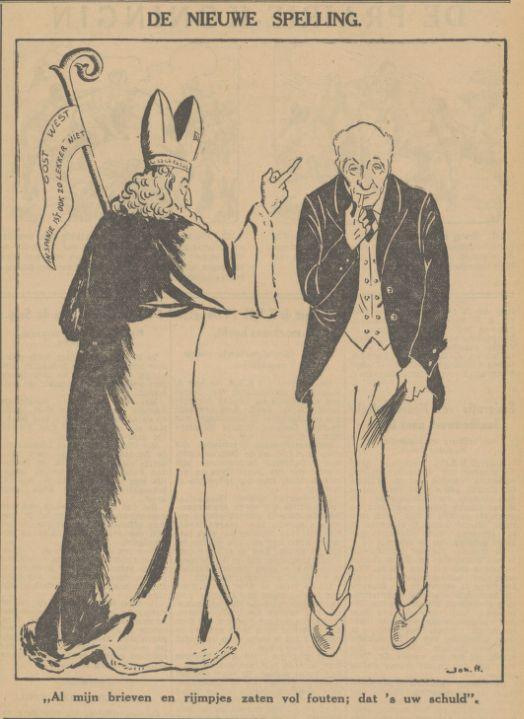 Sinterklaas en Marchant 1934