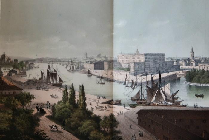 Stockholm, lithografie