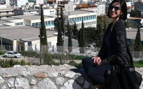 Evi Charitoudi in Athens