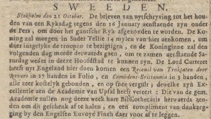 Amsterdamsche Courant 05-11-1722
