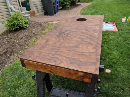 Creating DIY Cornhole