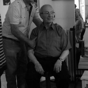 מפגש אצל שמואל נלקן, יוני, 2012